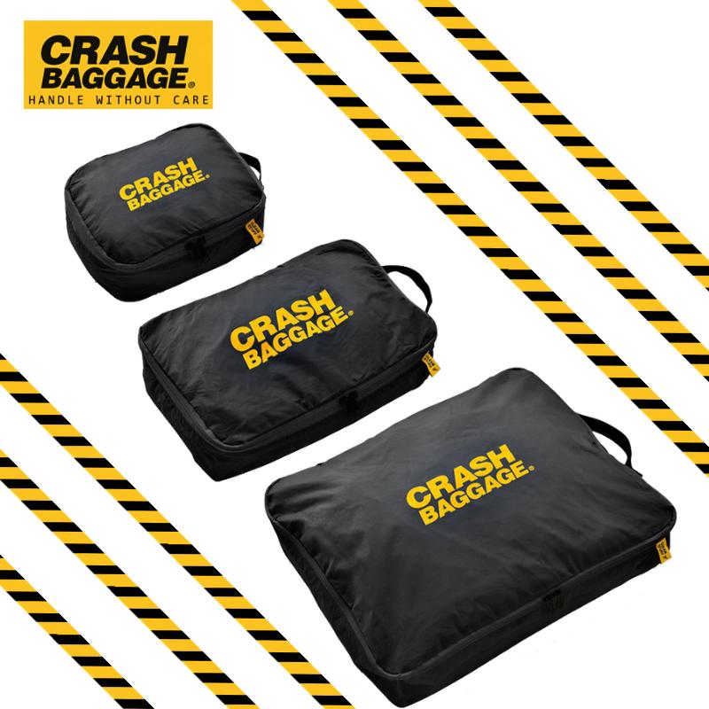 CRASH BAGGAGE GARMENT CASE - BLACK