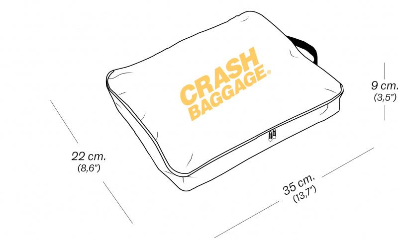 CRASH BAGGAGE GARMENT CASE - GREY