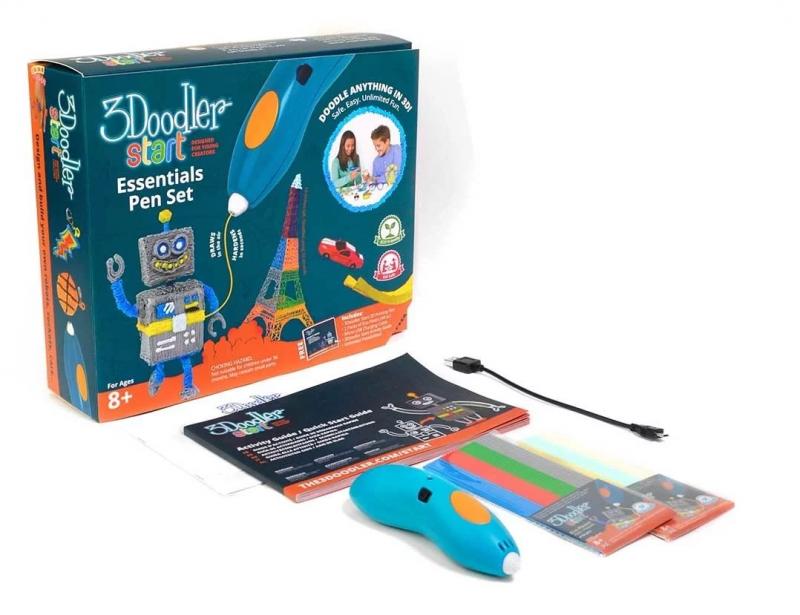 美國3Doodler Start 3D PEN 全球首支無線不燙手立體打印筆