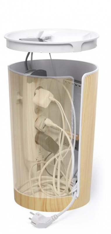 Bluelounge CableBin 木紋電線收納桶 [2色] 預訂:3-7天發出