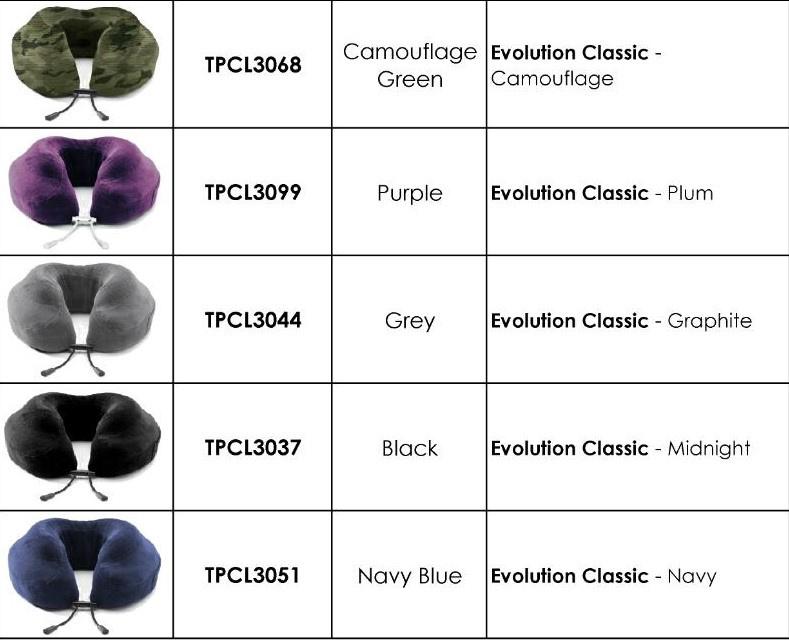 Cabeau Evolution® Classic 記憶棉旅行頸枕 [5色]