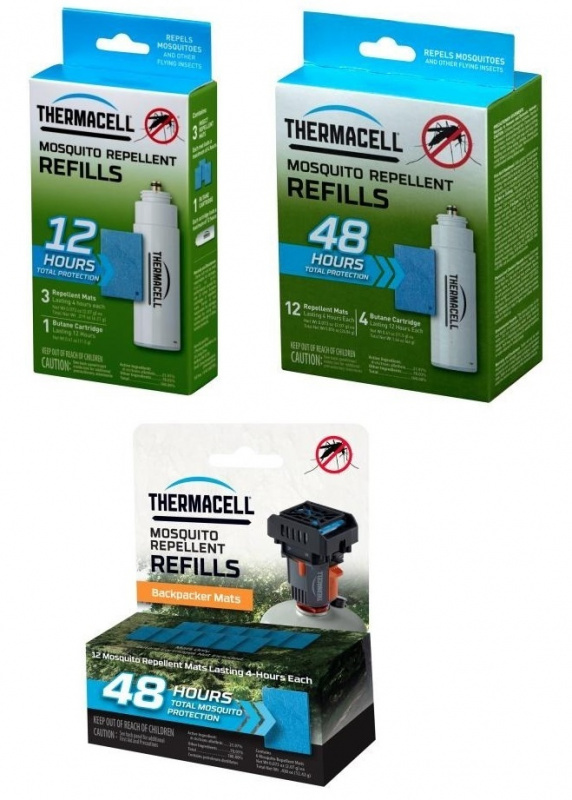 Thermacell Refills 驅蚊片及燃料補充裝 [3款] 預訂:3-7天發出