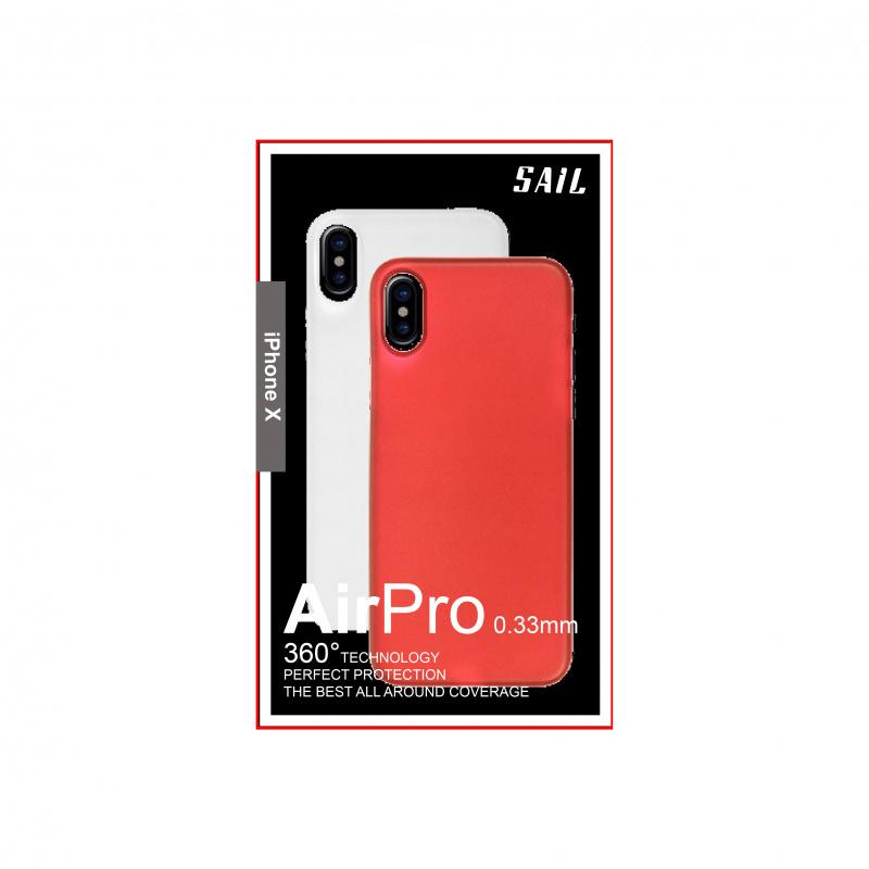 Sail AirPro 0.33mm Dual 雞蛋殼 for iPhone X [4色] 預訂:3-7天發出