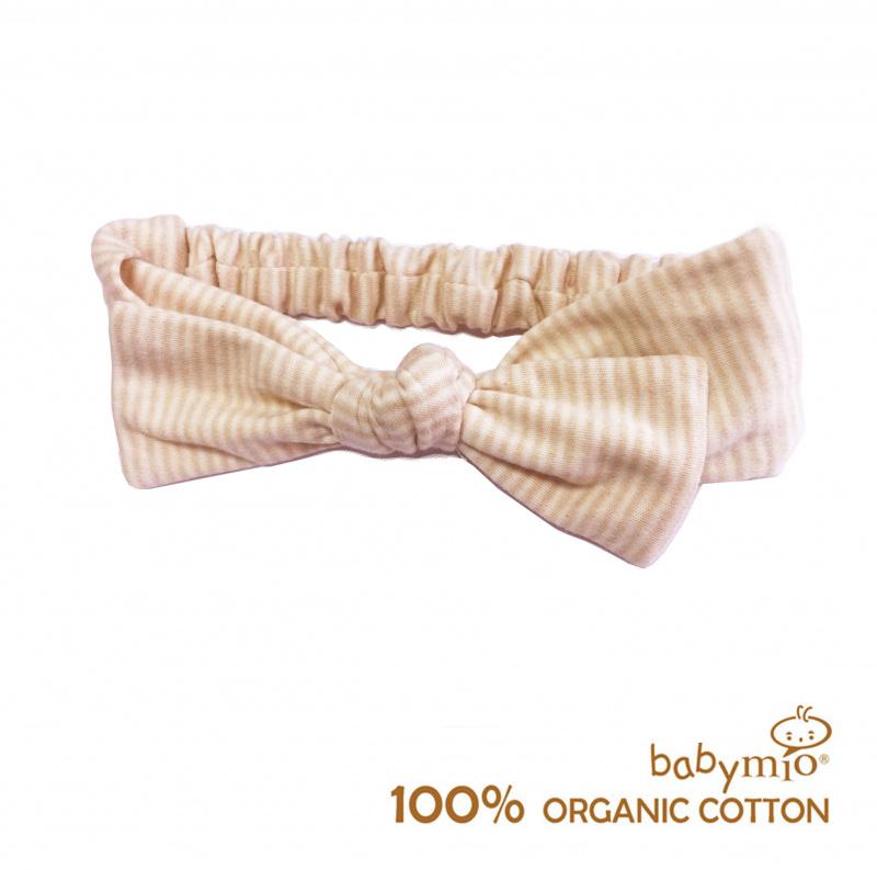(Babymio) 100%有機棉嬰兒甜心髮帶