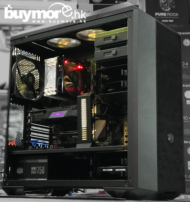 未來科技 Intel Core i9-9900K / GIGABYTE Z390 AORUS PRO WIFI / G.SKILL Aegis 16GB / APACER AS340 240GB / GIGABYTE RTX2070 GAMING / Cooler Master MC500P