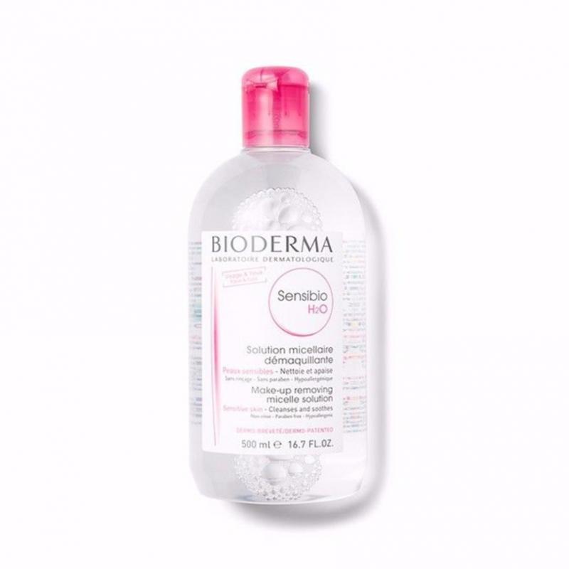 Bioderma Sensibio H2O深層卸妝潔膚水 (敏感性肌膚) 500ml 紅蓋