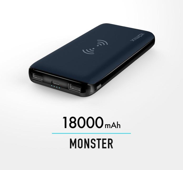 Idmix Monster 移動電源 18000mAh [2色] 預訂:3-7天發出