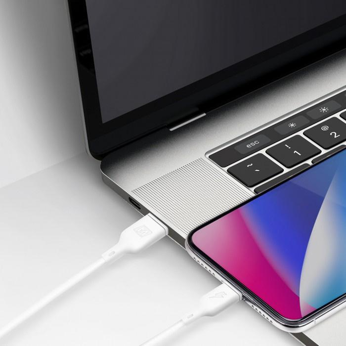MOMAX - Zero USB-C to Lightning 1.2m 連接線 白色 DL36