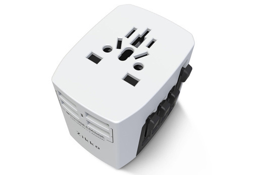 Zikko 4USB 全球通用旅行充電插座 預訂:3-7天發出