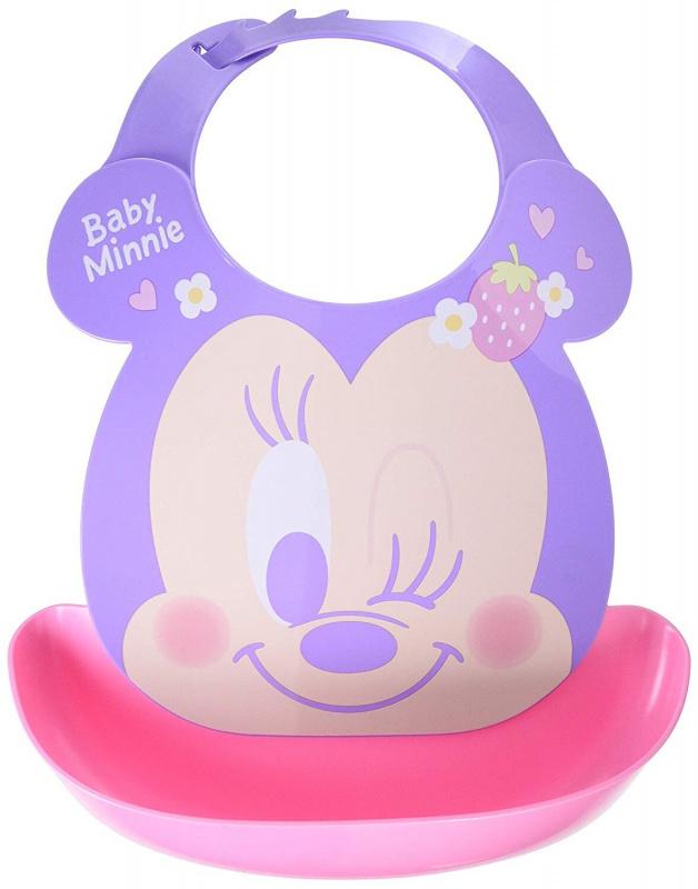 日本製 Disney嬰幼兒多功能立體圍兜 (日本內銷版)