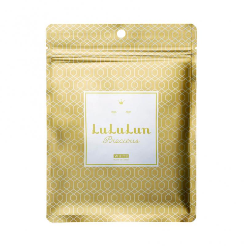 LuLuLun 珍貴彈力光澤面膜 7枚入 [金色]