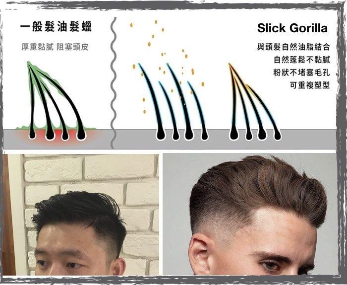 英國 Slick Gorilla 清爽造型髮粉