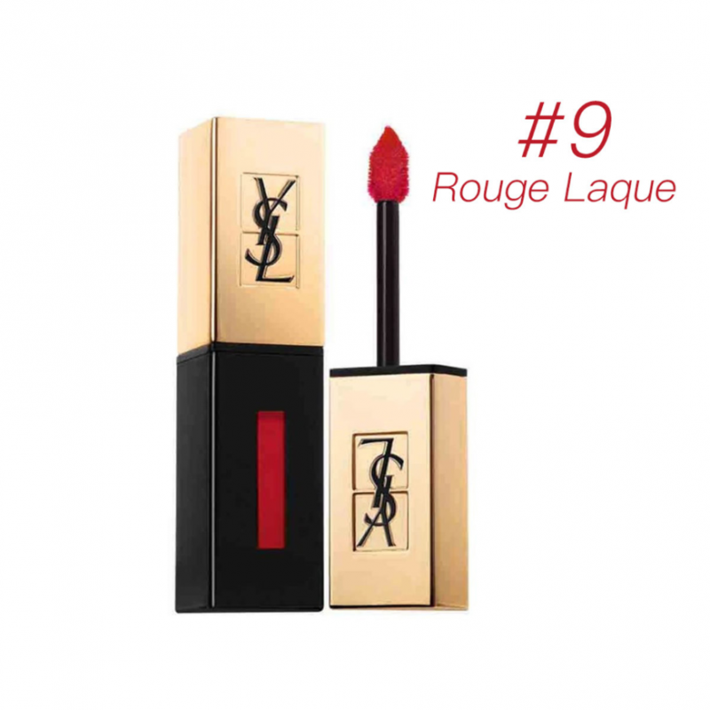 YSL - ROUGE PUR COUTURE VERNIS A LEVRES - #9 Rouge Laque