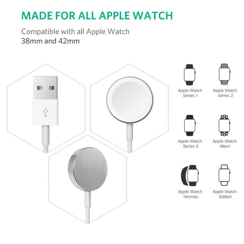 COTEetCI iWatch 磁力快速 Apple Watch 充電線 1m 預訂:3-7天發出