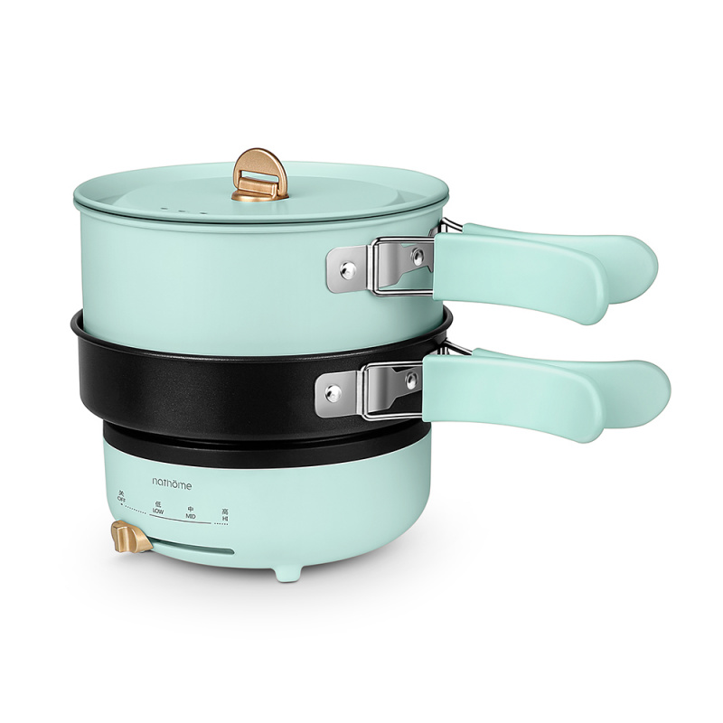 Nathome 分體式多功能電煮鍋 (NDG01) [3色]