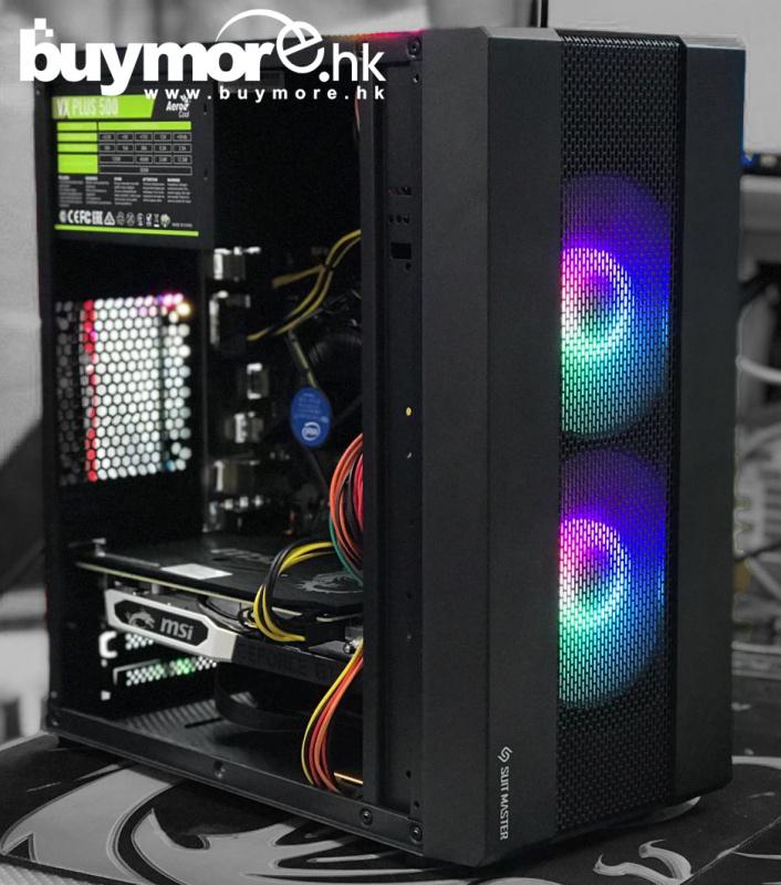 未來科技 Intel Core i5-9400F / ASUS PRIME H310M-E / G.SKILL DDR4 Aegis / KINGSTON A2000 250G NVMe SSD / MSI GTX1660 ARMOR 6G / ABKoncore Extreme MX / VX-500