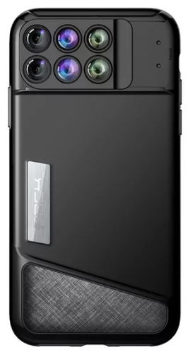 ROCK iPhone X 六合一鏡頭手機殼