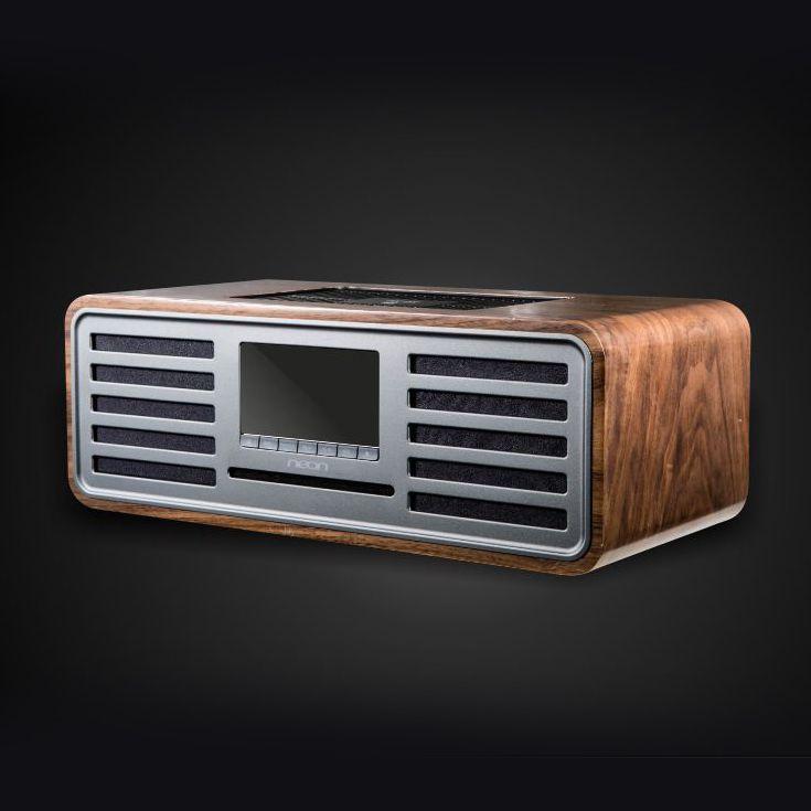 【香港行貨】Neon MTB830:膽機調聲、復古品味的床頭 Hi-Fi