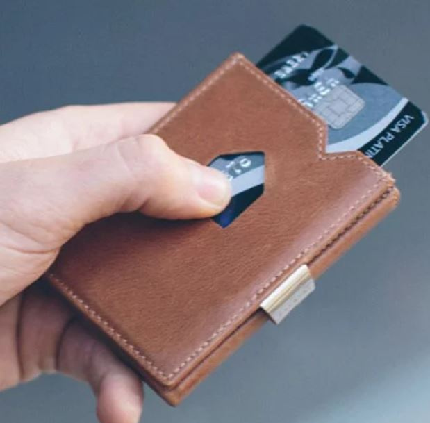 挪威Exentri Wallet 卡夾真皮防盜錢包 [4色]