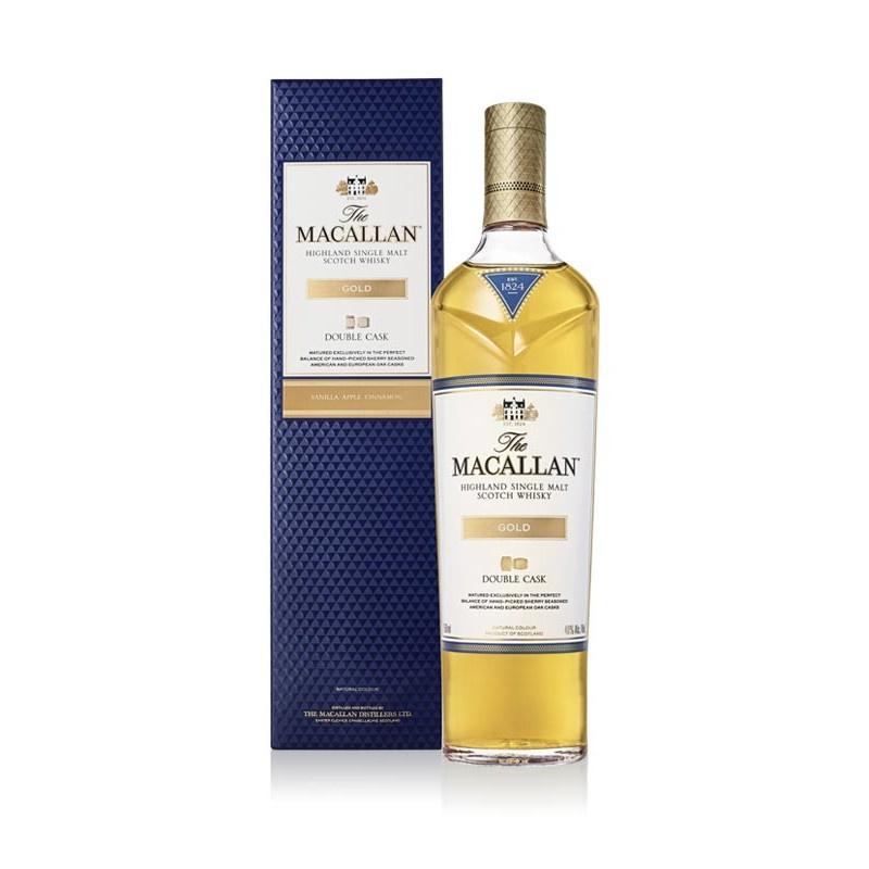 麥卡倫GOLD雙桶單一麥芽威士忌Macallan Gold Double Cask