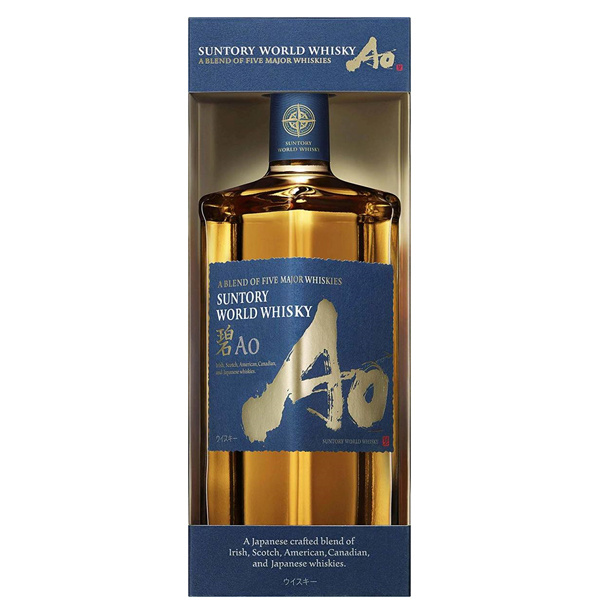 SUNTORY 碧Ao威士忌Suntory World Whiskey AO