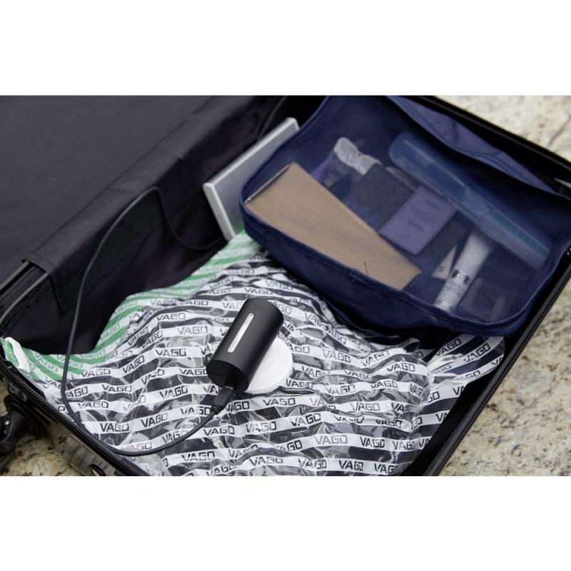 (工商免運) VAGO 旅行真空壓縮器套裝[連真空袋1個] [4色]