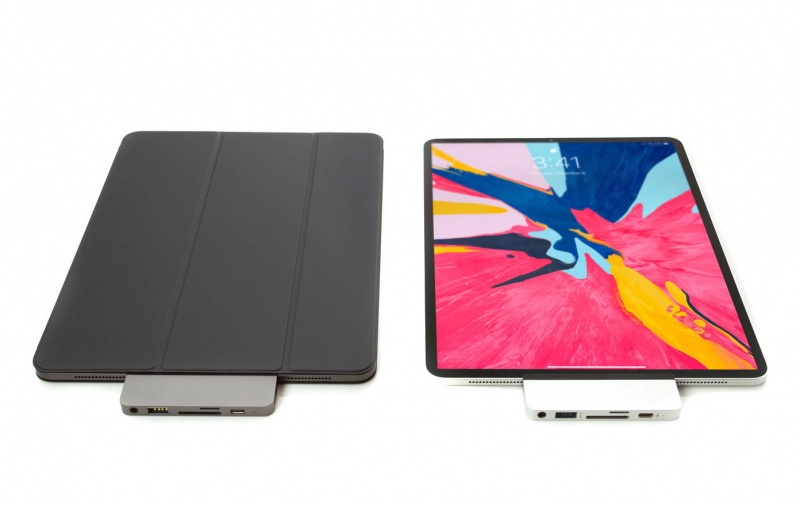 HyperDrive iPad Pro USB-C 專用擴充Hub HD319 [2色]