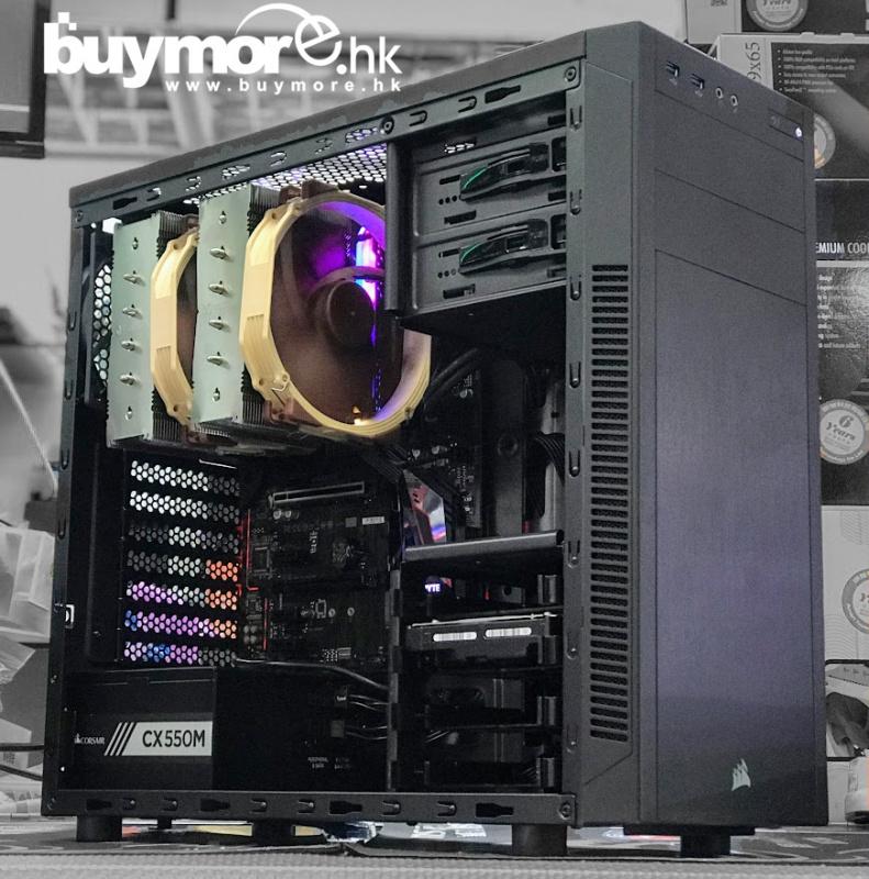 未來科技 Intel Core i7-9700K / MSI Z390-A / Kingston 16G / Corsair 100R / Corsair CX550M