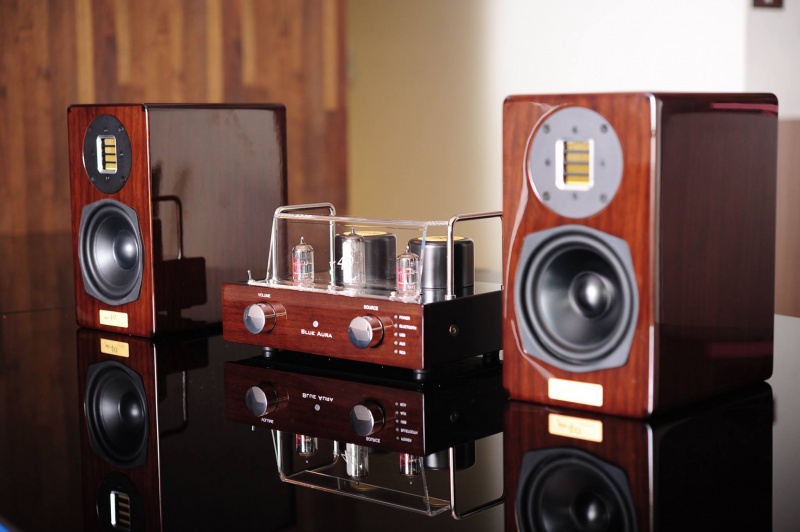 BLUE AURA - 真空管連喇叭音響系統V40SE