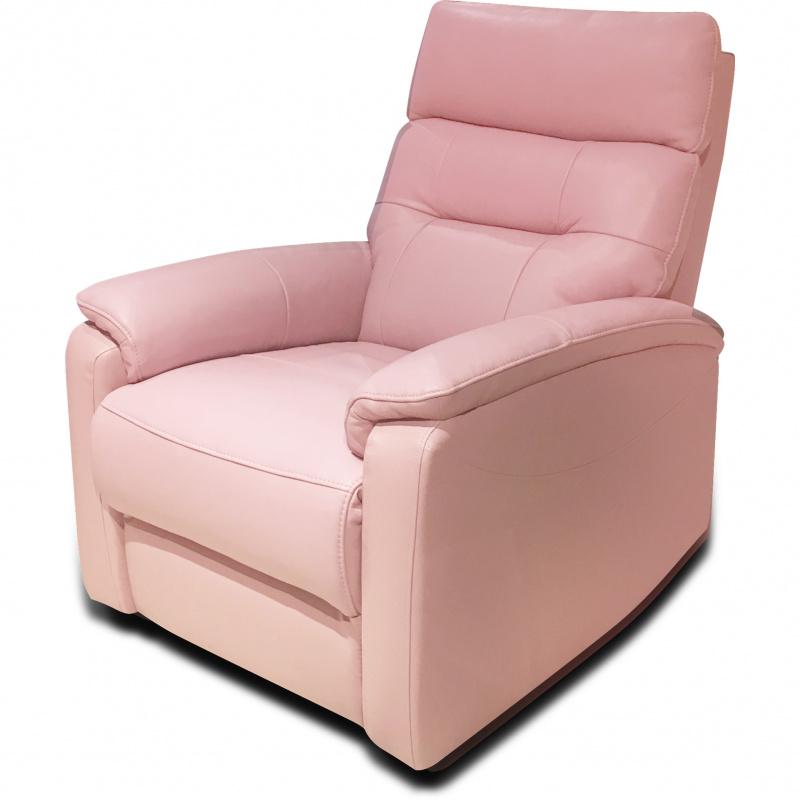 JACOB 單座位聲控電動彈鉸真皮休閒椅