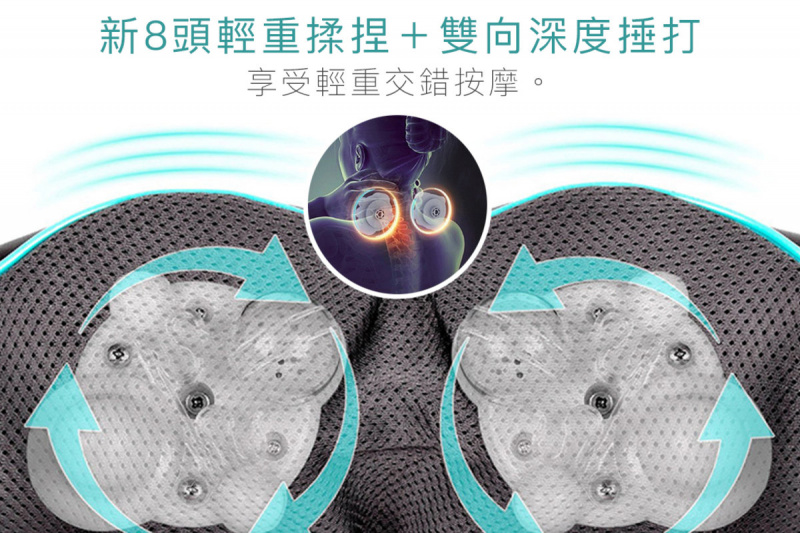 LOHAS - 3D 指壓揉捏按摩器