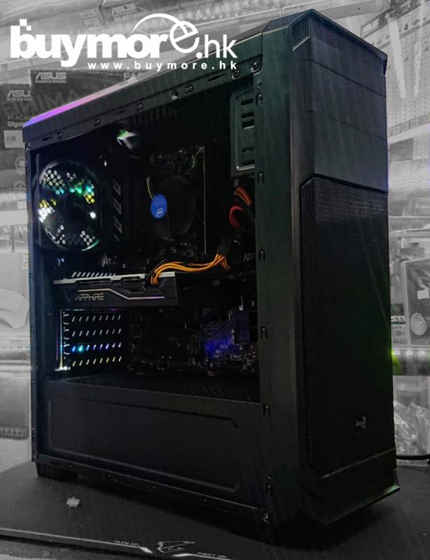 未來科技 Intel Core i5-9400F / ASUS PRIME H310M-E / Kingston 8G / SAPPHIRE PULSE RX 570 SAPPHIRE PULSE RX 570 / AEROCOOL Aero-300 / ABKOCORE 500w