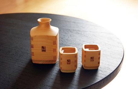 檜木酒器套裝(日本製)