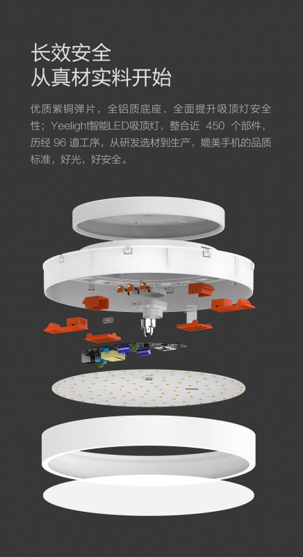 Xiaomi 小米 Yeelight 智能LED吸頂燈
