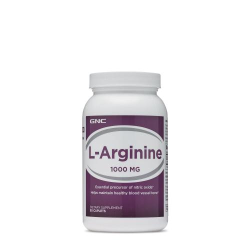 GNC - 男士保健左旋精胺酸 L Arginine 1000mg 增肌 助孕 90粒