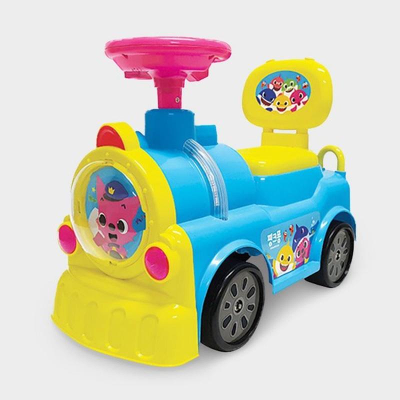 Pinkfong - Ride on Train 嬰兒音樂學行車