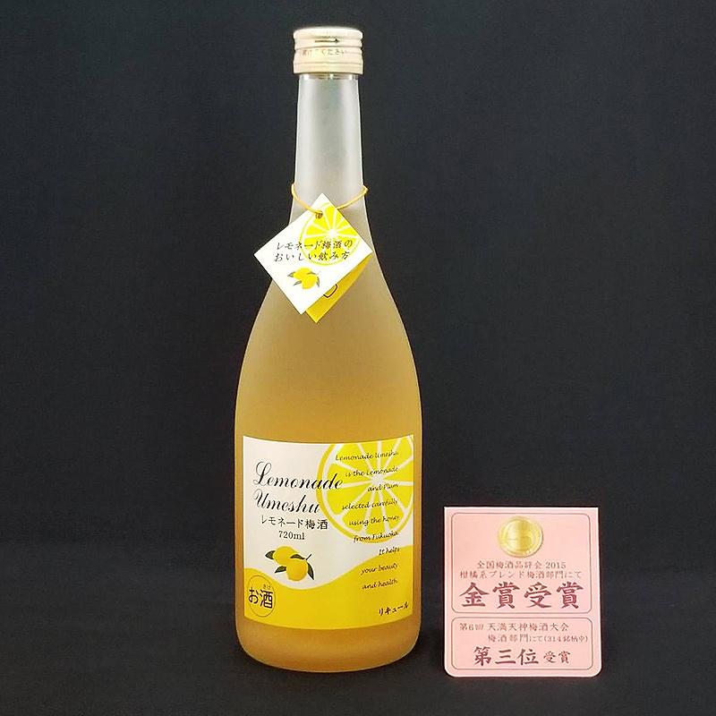 日版 研醸 (雙金賞) 檸檬蜂蜜 特色梅酒 720ml【市集世界 - 日本市集】