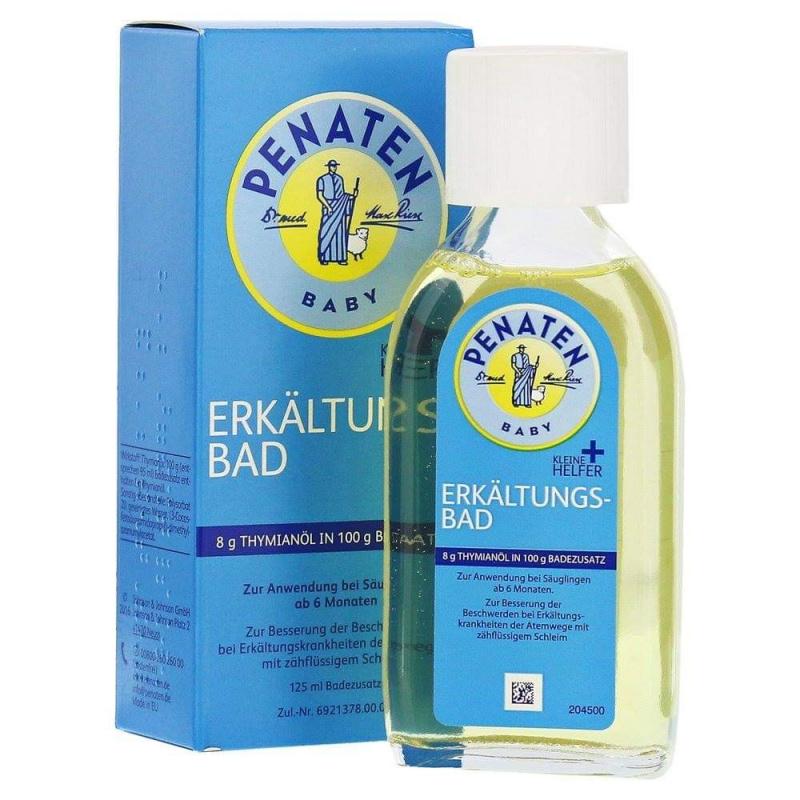 Penaten Erkältungsbad 嬰兒感冒沐浴油(125ml)(平行進口)