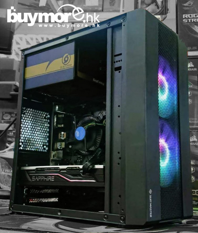 未來科技 Intel Core i5-9400 / ASUS PRIME H310M-E / G.SKILL DDR4 Aegis / KINGSTON A2000 250G NVMe SSD / SAPPHIRE PULSE Radeon RX 570 / ABKoncore Extreme MX / ENERMAX 500w