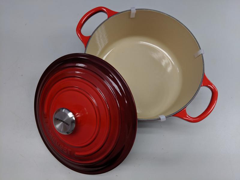 Le Creuset - 圓形琺瑯鑄鐵鍋 櫻桃紅 26cm Cerise Cherry Red Round Casserole Cast Iron