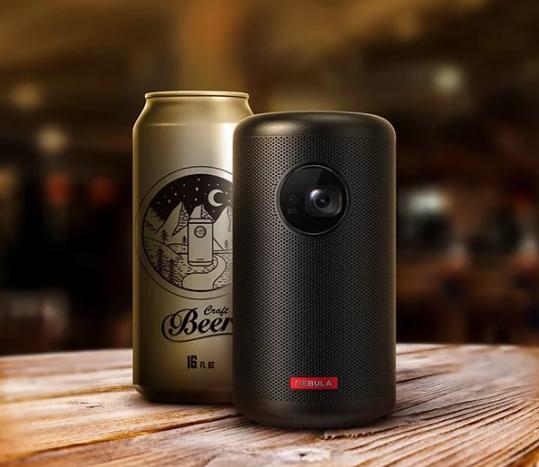 美國ANKER Nebula Capsule II可樂罐微型智慧投影機 預訂:7至14天寄出