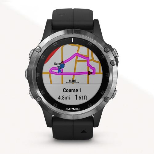 GARMIN Fenix 5 Plus GPS地圖 心率 運動手錶 [英文版]
