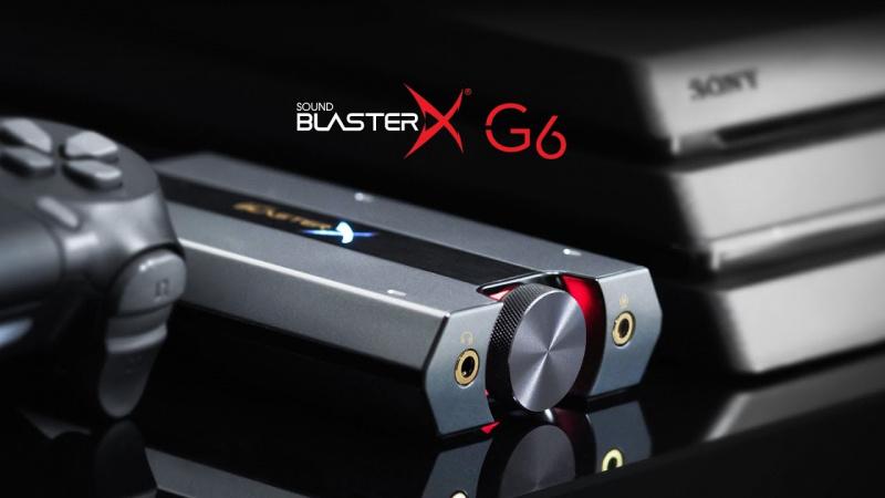 Creative Sound BlasterX G6 杜比虛擬7.1聲效卡