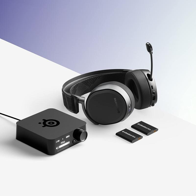 Steelseries Arctis Pro Wireless 無線遊戲耳機 [黑色]
