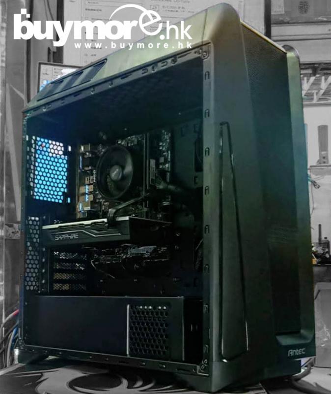 未來科技 AMD Ryzen 5 3600 / ASUS TUF B450M-PLUS / G.SKILL DDR4 Aegis 16G / KINGSTON A2000 500G M.2 NVMe SSD / GIGABYTE GTX1660 6G / ANTEC GX202 / ANTEC NX650