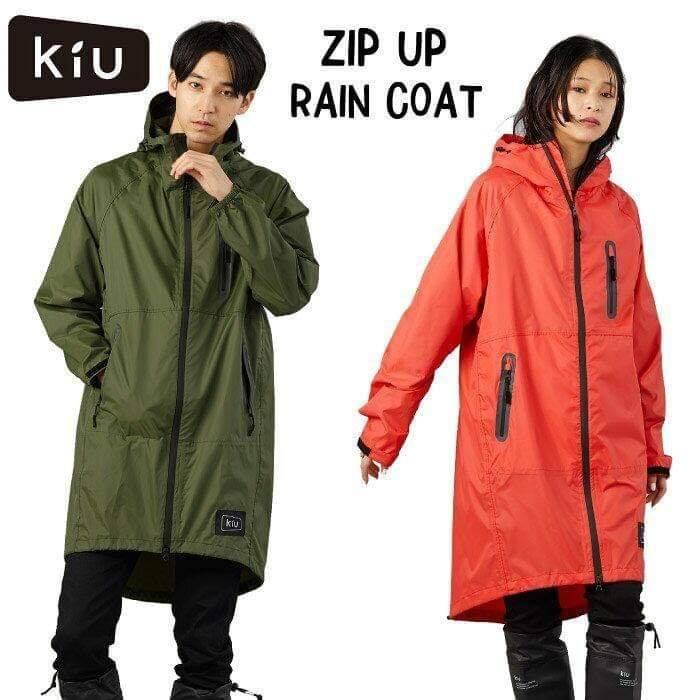 日本直送KIU K116 RAIN ZIP UP 高效能防水雨衣(2019年新款)