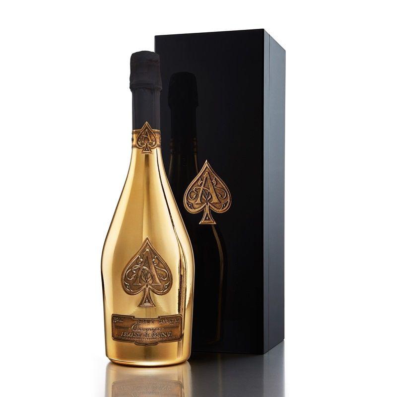 Armand de Brignac Ace of Spades Champagne Brut Gold 750mL Gift Box Set - 1002841