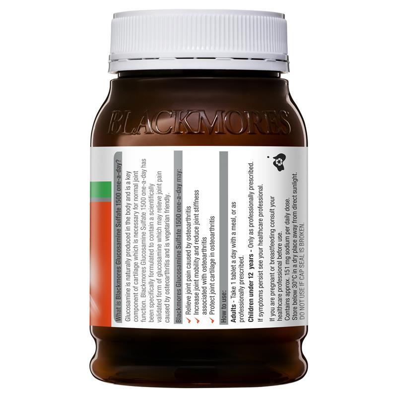 BLACKMORES - 維骨力 關節靈 葡萄糖胺 1500mg 180粒