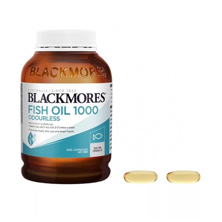 BLACKMORES - 澳佳寶 無腥味魚油丸1000 400粒 (新包裝)