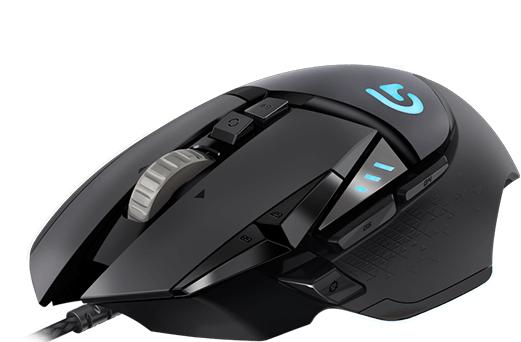 【香港行貨】Logitech G502 HERO 遊戲滑鼠